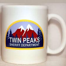 TWIN PEAKS - Coffee Mug - Sheriff Department - David Lynch - PERSONALISE FREE