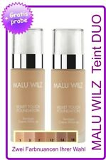 "Malu Wilz ""Teint"" DUO  Velvet Touch Foundation"