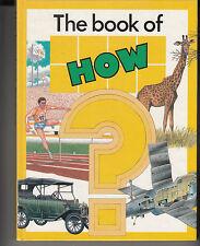 The Book of How like new hardback same day freepost in Australia