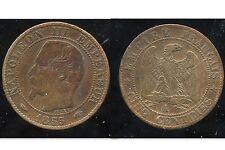 5 centimes NAPOLEON III 1855 A   chien TB+