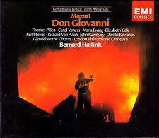 MOZART: DON GIOVANNI Thomas Allen Maria Ewing Vanessvan Allan HAITINK EMI 3CD 93