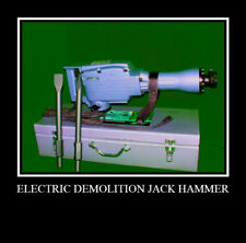 Electric Demolition Jack Hammer Concrete Breaker Tools ate