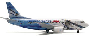 Herpa Wings 1:400 CSA Czech Boeing 737-500 80th anniv id 560979 released 2004