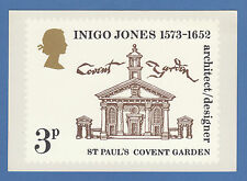 BRITISH POST OFFICE -  EXTREMELY RARE PHQ CARD - NO. 2 - INIGO  JONES - 1973