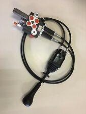 Hydraulikventil Handsteuerventil 40L 2 DW, 1 Schwimmstelllung Kabelsteuerung