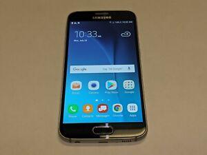Samsung Galaxy S6 SM-G920V 32GB Verizon Wireless Blue Smartphone *Rear Smashed*