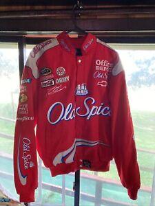 Tony Stewart Autographed Old Spice #14         JH Design Jacket  /  Coat