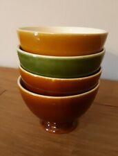 Lot de 4 anciens bols - Vintage french coffee bowls - Kommetjes