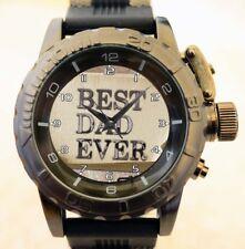 Reloj Pulsera De Calidad Personalizado personalizado añadir Logo Foto Texto Papá Padres Día Regalo