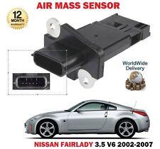 FOR NISSAN FAIRLADY 3.5 V6 VQ35DE GREY IMPORT 2002-2007 NEW AIR MASS SENSOR