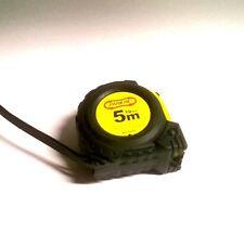 5m Rollbandmaß Bandmass Massband in 19 mm Breite. Mit Selbsteinzug und Magnet