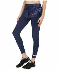 adidas by Stella McCartney Women's Shorts Over Tights~2-in-1~Blue~AI8896~Sz L