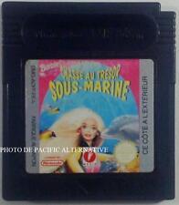 jeu BARBIE CHASSE AU TRESOR SOUS MARINE sur nintendo game boy color mattel media