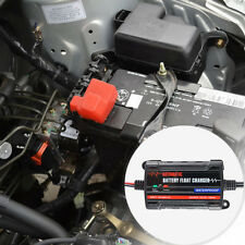 Automatic Float Motorcycle Charger Car Truck Battery Maintainer Tender 6V/12V