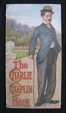THE CHARLIE CHAPLIN BOOK Rare first edition 1916 comedy icon