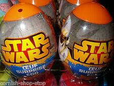 Star Wars Sorpresa Plástico Huevos x 6... Star Wars Juguete & dulces dentro..! con descuento!