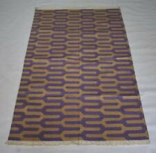 Handmade Accent Cotton Modern Turkish Kilim 3x5 Feet Area Rug