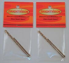 Two Sets of Hot Wheels Rivet Removal Drill Bits For Customs & Restorations 2-56