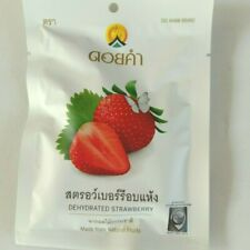 Dried Strawberries Strawberry Food   Natural Sliced  Emergency 25 g Snack