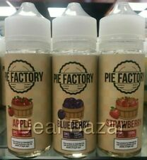 USA Premium Tailored Pie Factory Vapors E Liquid Vape Juice 0mg TPD