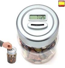 Contador Monedas Hucha digital acepta todas las monedas Euros