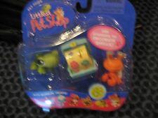 NIP Littlest Pet Shop TURTLE & HERMIT CRAB  # 187 & # 188   NEW!!