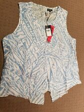 womens see saw sleeveless top size 18
