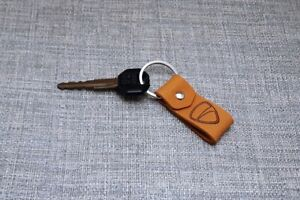 Ducati Key Keyring Motorcycle Leather Keychain New Corse Chain Logo Fob