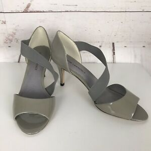 DAVID LAWRENCE Peep Toe Strappy High Heel Shoes Size 40 Brand New RRP $149