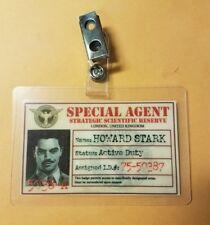 Captain America/Agent Carter/ID Badge -Howard Stark cosplay prop costume