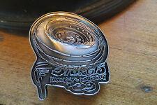 Harley-Davidson motorcycle pin, Sturgis, wheel, 2009