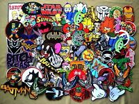 Patchs Cartoon Embroidered Iron On Patch Sew Applique Gam super Hero Biker sport