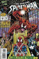 Amazing Spider-Man Comic Issue 403 Modern Age First Print 1995 Dematteis Bagley