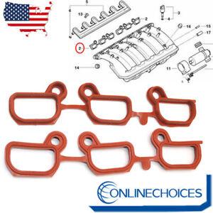 Set 2x Engine Intake Manifold Gasket FOR BMW 3 5 Series E46 E60 E53 11611436631