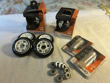 Oxelo 80mm. Wheelset with Bearings. Inline Skates / Rollerblade.
