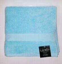 "NEW RALPH LAUREN WESCOTT POOLSIDE BLUE,100% COTTON BATH TOWEL 30""x 56"""