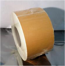 NEW 600 Perf, 3 Inch Core 4 X 6 Thermal Transfer Self-Adhesive Orange Tan Labels