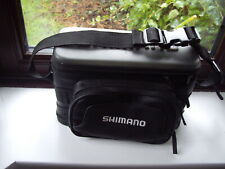 SHIMANO LURE BAG 15 FULLY DRAINED COMPARTMENTS WAIST BELT