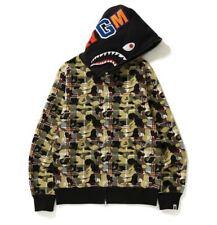 BAPE Shark Hoodie Camo Size XL