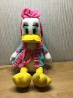 Disney Daisy Duck Large Soft Toy Teddy 15 Inch Plush Bedtime Dressing Gown