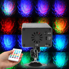 DJ Club Disco KTV Party Bar 16 Color RGB LED Water Laser Projector Stage Light