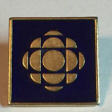 CBC Canadian Broadcasting Corporation Radio Television Button Brooch Pin Vintage