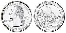2010 P US Yosemite California America The Beautiful Quarter Dollar - 2 BU Coins