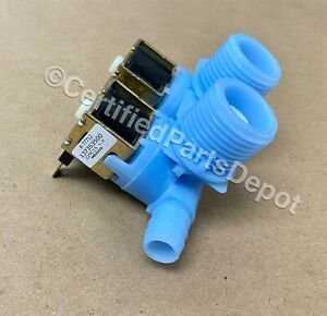 New Genuine OEM Electrolux Frigidaire Washer Water Valve 137353500