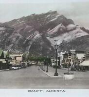Postcard, Banff Alberta Canada Vintage RPPC Hasn't Tinted P25