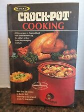 1975 Rival Crockpot Cooking Cookbook by Marilyn Neill, Slow Cooker Crock Pot EUC