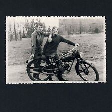 SPEZIAL-MOTORRAD OLDTIMER m NSU-Motor / MOTORBIKE * Vintage 1950s DDR/GDR Photo