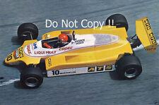 Eliseo Salazar ATS D5 Grand Prix de Mónaco 1982 fotografía