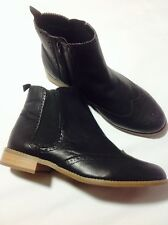 EVANS HANG EEE April Black Boots EEE FIT UK 6 EU 39 LN088 AL 09
