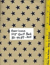 """PATRIOTIC AMERICANA 108"""" EXTRA WIDE BACKING, BD-49189-A04 100% COTTON, PER YARD"""